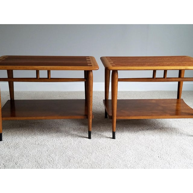 Lane Mid-Century Acclaim Side Tables - A Pair - Image 3 of 8