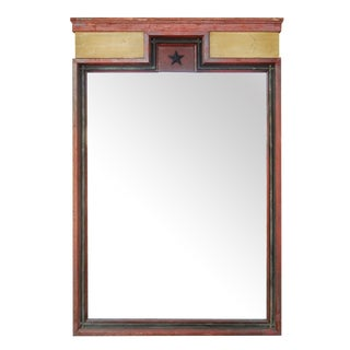 Painted Architectural Mirror