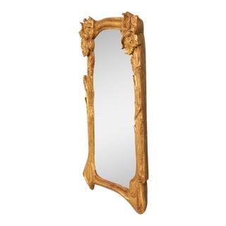 Art Nouveau Gilt Mirror