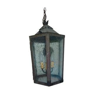 Antique Steel Garden Lantern