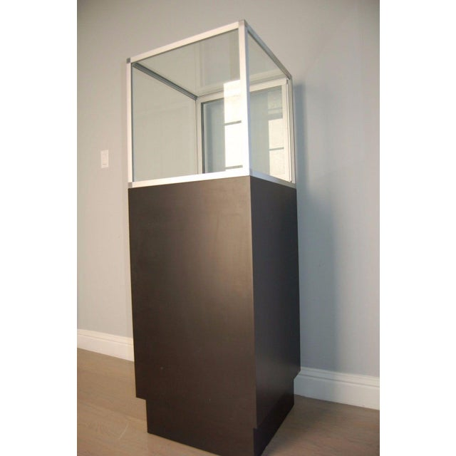 Image of Glass Top Display Cases - A Pair
