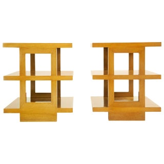 Edward Wormley Triple Tier End Tables