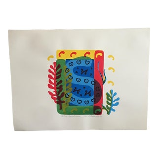 """Matisse Remembrances"" Signed Print"