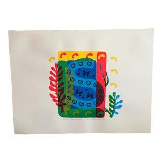 """Matisse Remembrances"" Signed Print"