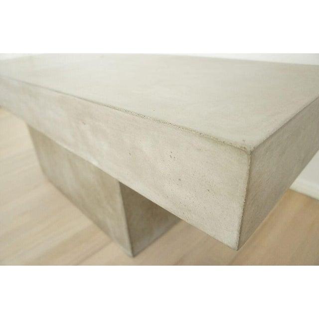 Image of CB2 Concrete Resin Fuze Bench