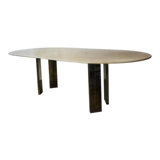 Karl Springer Lacquer Table on Custom Base