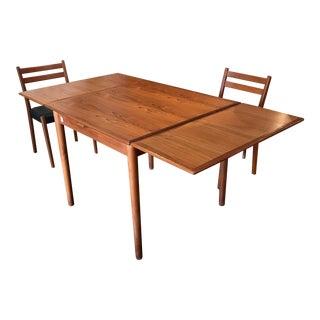 Am Mobler Danish Teak Expandable Table