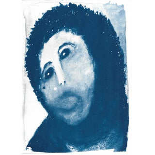 Cyanotype Print - Ecce Homo/ Spanish Jesus