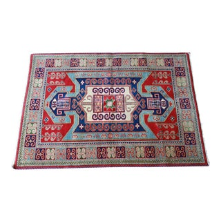 Hand-Woven Indo-Caucasian Rug
