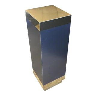 Gold & Black Pedestal