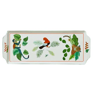 Lynn Chase Rectangular Rainforest Serving Tray