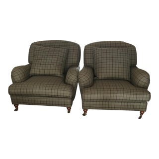 Ralph Lauren Club Chairs - A Pair