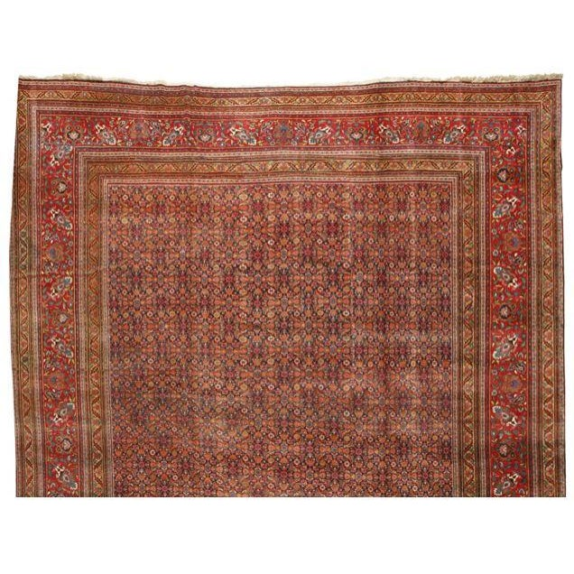 Image of Extremely Fine Antique Oversize 19th Century Meshed Carpet