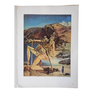 Vintage Surrealist Lithograph-Salvador Dali-France-1957
