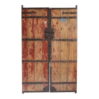 Antique Wood & Iron Garden Gate