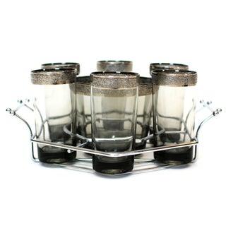 Mid-Century Highball Glasses Set