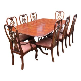 Thomasville Dining Set with Table and 8 Chairs