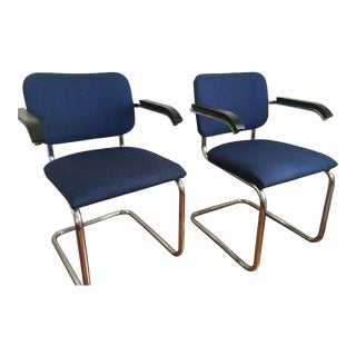 Marcel Breuer for Thonet Cesca Chairs - A Pair