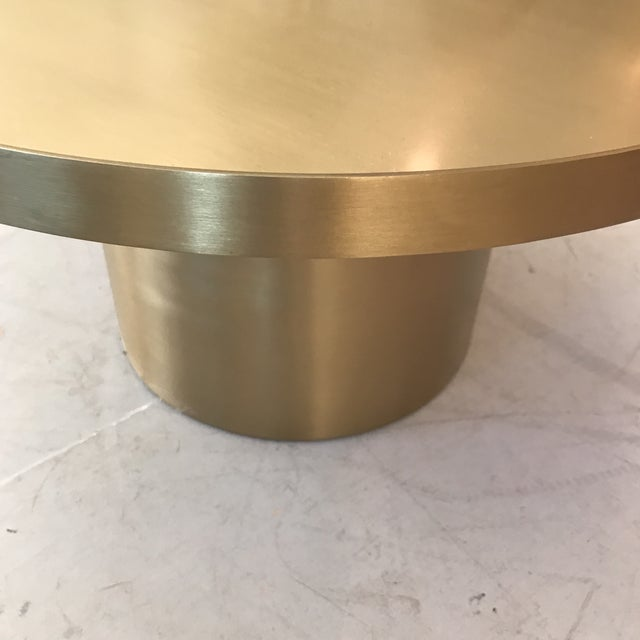 Gold Low Side Table - Image 2 of 6