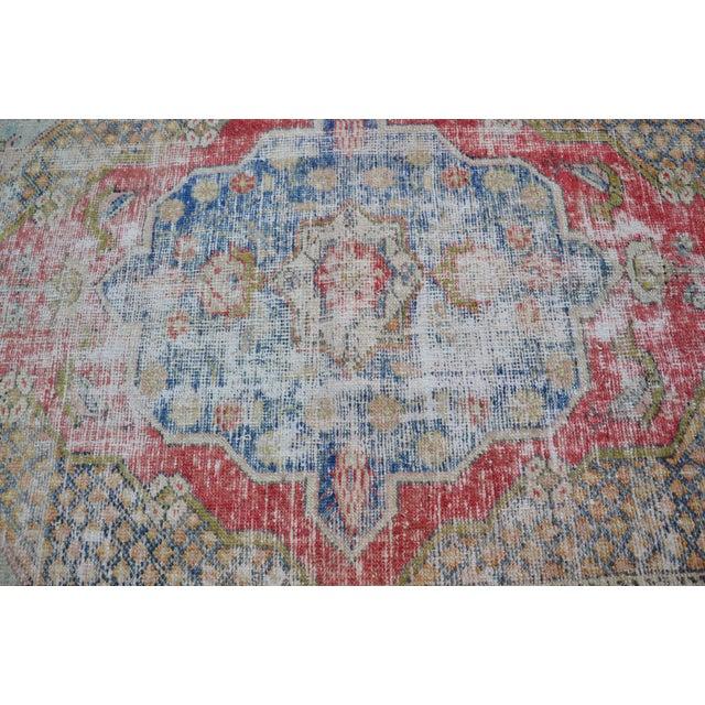 "Handmade Anatolian Tribal Rug - 45"" x 63"" - Image 5 of 6"