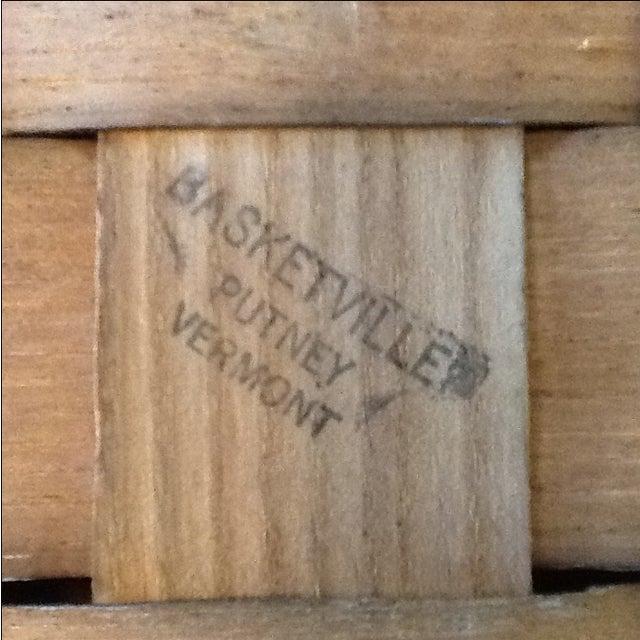 Vintage Basketville Putney Picnic Basket - Image 4 of 6