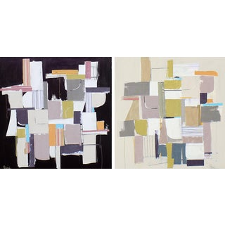 Opposites Attracting Diptych
