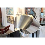 Image of Most Unusual Floor Lamp with a hand made knot Metal Shade
