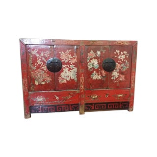 Chinese Lacquer Sideboard
