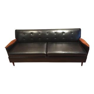 Mid-Century Modern Era by Magnuson Black Sofa
