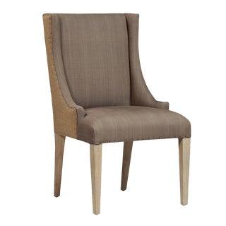 Upholstered Linen Dining Chair