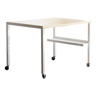 Rehab Original Steel & Wood Modular Work Table