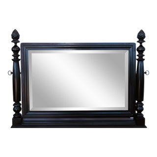 Ebony Chevalier Console Mirror