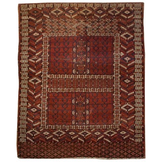 19th Century Turkmen Prayer Rug