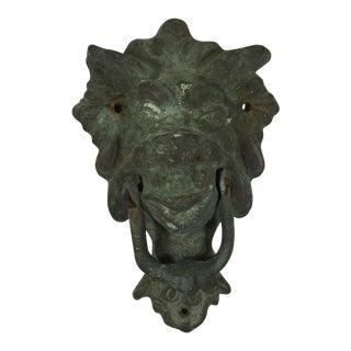Antique Gargoyle Door Knocker