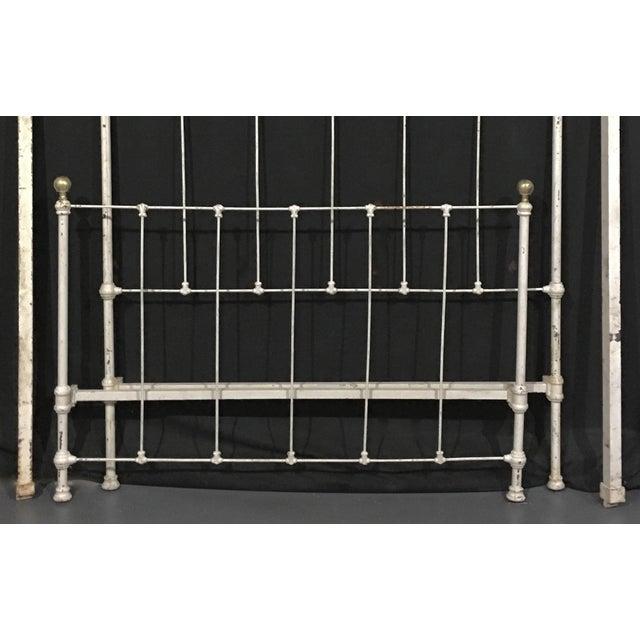1900's Metal Bed Frame - Image 3 of 4