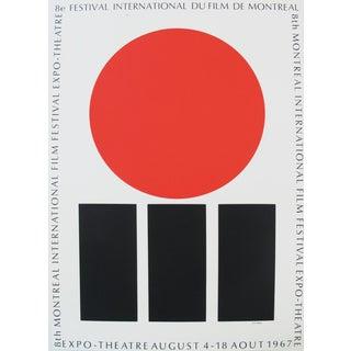 1967 Montreal International Film Festival Poster