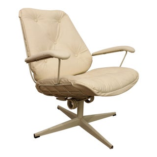Mid-Century Danish Modern Bottemiller Homecrest Swivel Lounge Chair