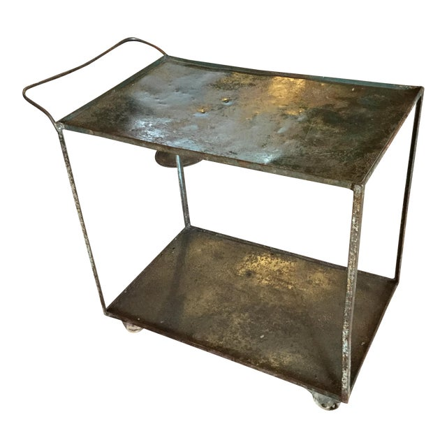 Industrial Bar Cart - Image 1 of 10