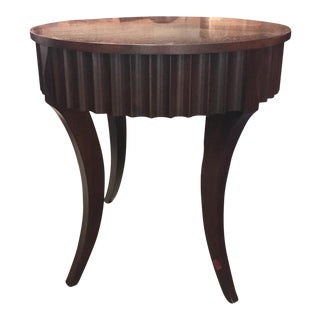 Ethan Allen Round Side Table