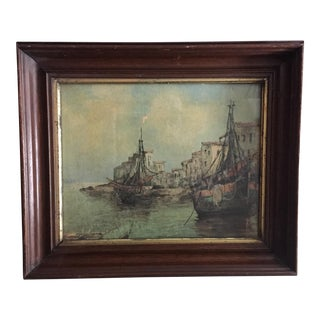 Seascape Print in an Empire Frame