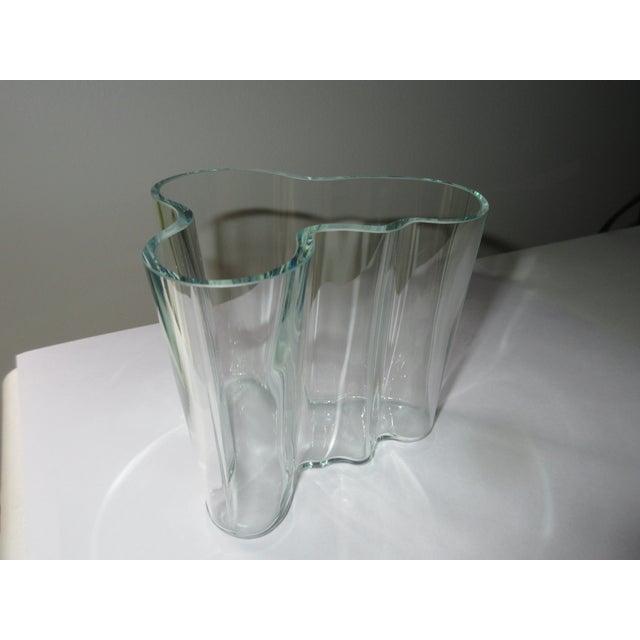 """""""Green Hue"""" Acid Etch Vase - Image 2 of 6"""