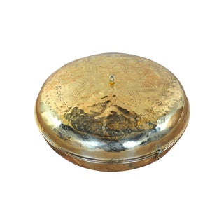 Antique 19th Century Brass Foot Warmer