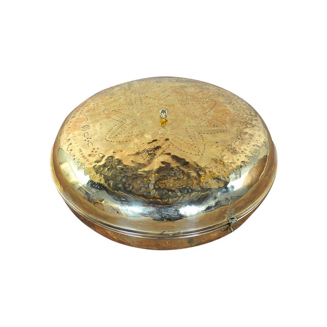 Antique 19th Century Brass Foot Warmer - Image 1 of 11