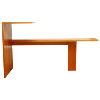 Ed Clay Modern Writing Table & Bench