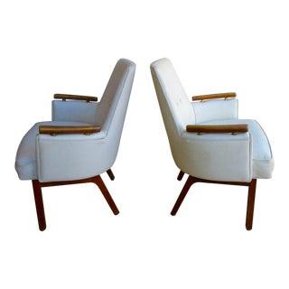 Vista Mid-Century Club Chairs - A Pair