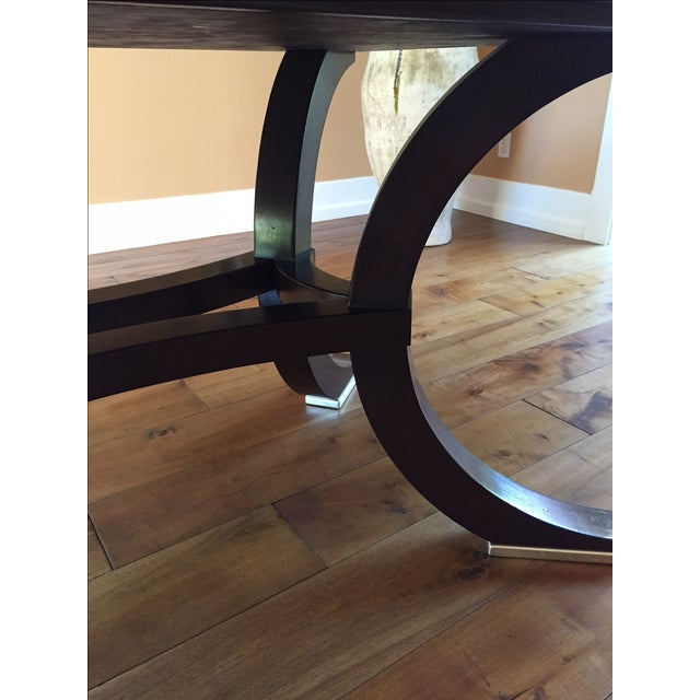 Walnut Dining Table - Image 5 of 6