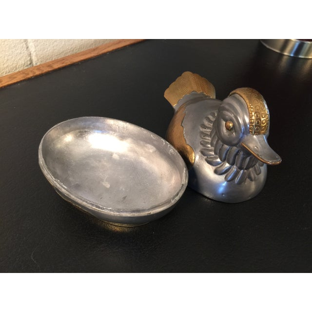 Image of The Chubby Duck Metallic Soap Dish