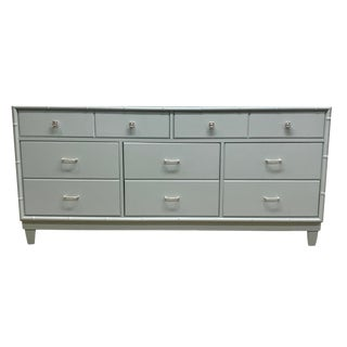 Thomasville Light Blue Wood Dresser