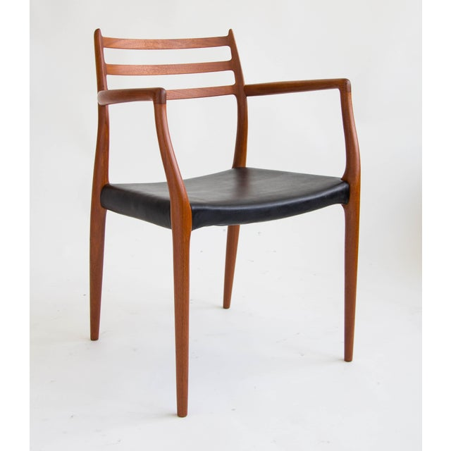 Niels Møller #78 Dining Chairs - Set of 6 - Image 4 of 11