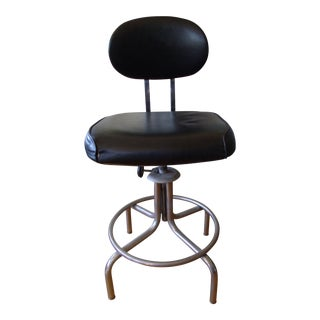 Steelcase Vintage Drafting Stool, 1960s